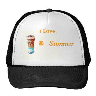 Sundae ice-cream trucker hat