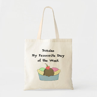 Sundae My Favourite Day... Tote Bag
