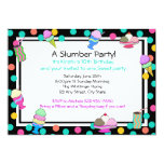 Sundae Party Birthday Personalized Announcements