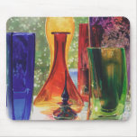 """Sundance"" Art Glass Watercolor Painting Mouse Pad"