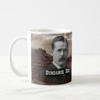 Sundance Kid Historical Classic White Coffee Mug