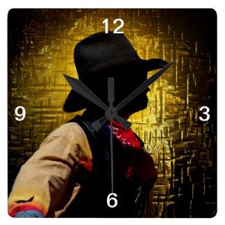 Sundance Kid Wall Clock