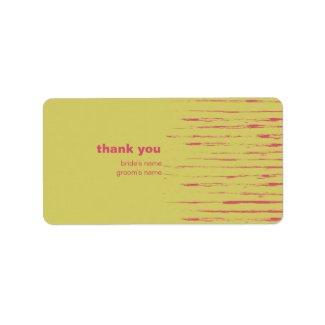 Sundance Thank You Gift Sticker label
