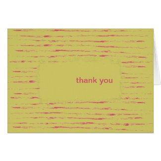 Sundance Thank You Note Card card