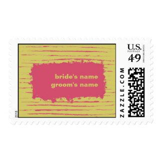 Sundance Wedding Stamp