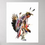 Sundancer - poster del arte del nativo americano 1