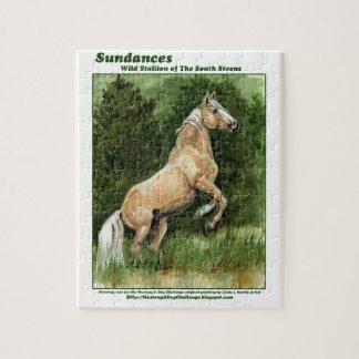 Sundances Wild Horse of the Steens Puzzle SAF