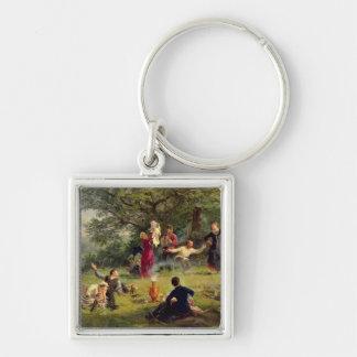 Sunday, 1884 keychain