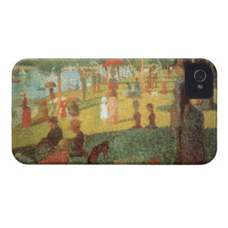 Sunday Afternoon by Georges Seurat iPhone 4 Case-Mate Case