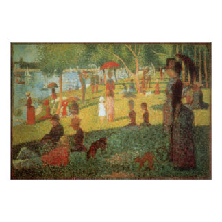 Sunday Afternoon by Georges Seurat Poster