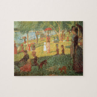 Sunday Afternoon by Georges Seurat Puzzle