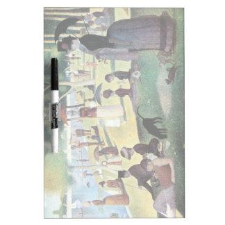 Sunday Afternoon, Island La Grande Jatte by Seurat Dry Erase Board