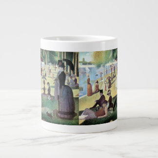 Sunday Afternoon, Island La Grande Jatte by Seurat Giant Coffee Mug