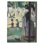 Sunday Afternoon, Island La Grande Jatte by Seurat iPad Air Cases