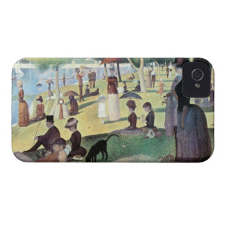 Sunday Afternoon, Island La Grande Jatte by Seurat iPhone 4 Cover