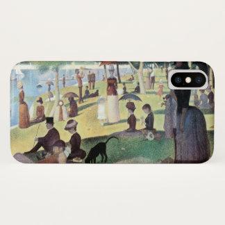 Sunday Afternoon, Island La Grande Jatte by Seurat iPhone X Case