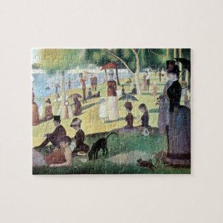 Sunday Afternoon, Island La Grande Jatte by Seurat Jigsaw Puzzle