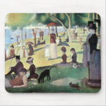 Sunday Afternoon, Island La Grande Jatte by Seurat Mousepads