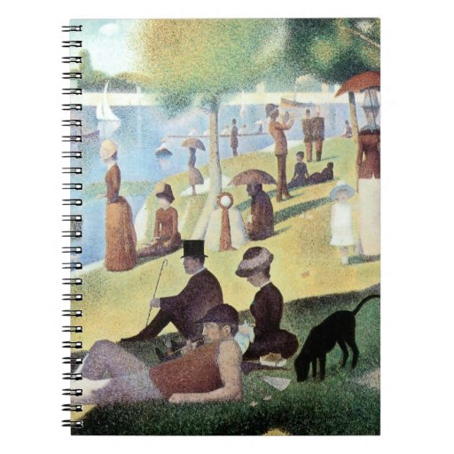 Sunday Afternoon, Island La Grande Jatte by Seurat Note Books