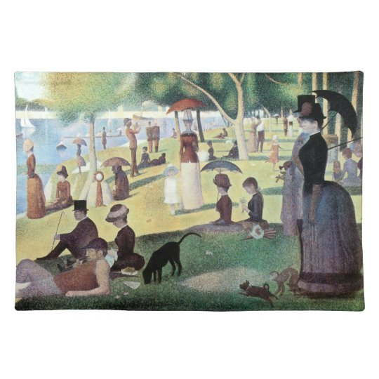 Sunday Afternoon, Island La Grande Jatte by Seurat Placemat
