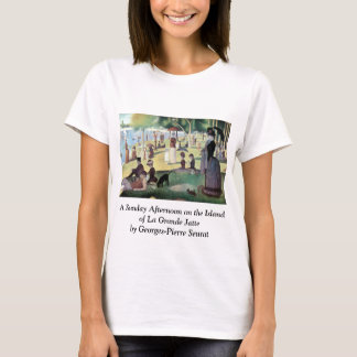 Sunday Afternoon, Island La Grande Jatte by Seurat T-Shirt