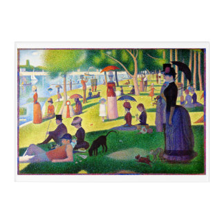 Sunday Afternoon On The Island Of La Grande Jatte Acrylic Print