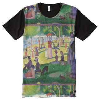 Sunday Afternoon On The Island Of La Grande Jatte All-Over Print Shirt