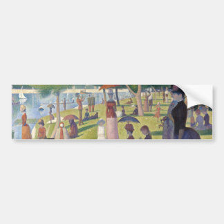 Sunday Afternoon on the Island of La Grande Jatte Bumper Stickers