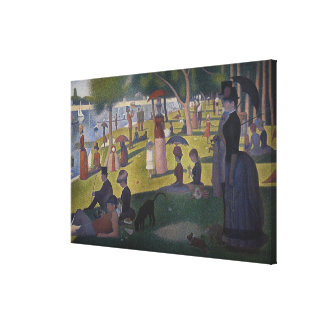 Sunday Afternoon on the Island of La Grande Jatte Gallery Wrapped Canvas