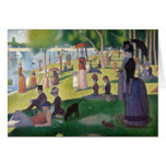Sunday Afternoon on the Island of La Grande Jatte Greeting Cards