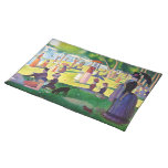 Sunday Afternoon On The Island Of La Grande Jatte Cloth Placemat