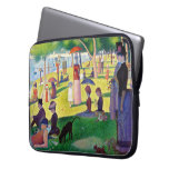 Sunday Afternoon On The Island Of La Grande Jatte Laptop Sleeves