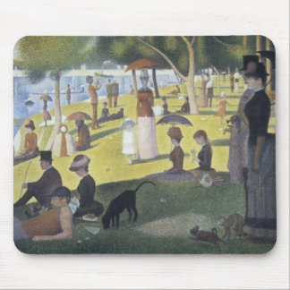 Sunday Afternoon on the Island of La Grande Jatte Mouse Pad