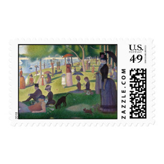Sunday Afternoon on the Island of La Grande Jatte Postage