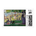 Sunday Afternoon on the Island of La Grande Jatte Postage Stamps