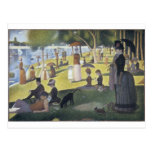 Sunday Afternoon on the Island of La Grande Jatte Post Cards