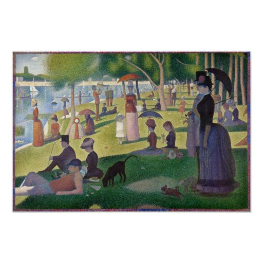 A sunday afternoon on the island of la grande jatte meaning