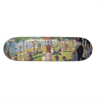 Sunday Afternoon on the Island of La Grande Jatte Skateboard
