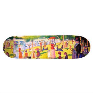 Sunday Afternoon On The Island Of La Grande Jatte Skateboard Deck