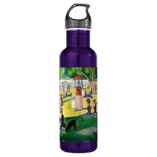 Sunday Afternoon On The Island Of La Grande Jatte Stainless Steel Water Bottle