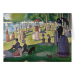 Sunday Afternoon on the Island of La Grande Jatte Stationery Note Card