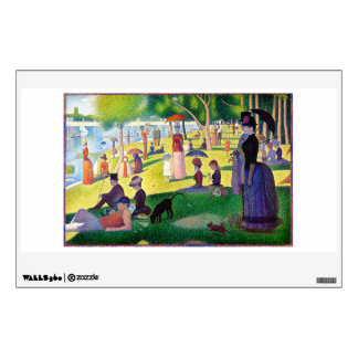 Sunday Afternoon On The Island Of La Grande Jatte Wall Decal