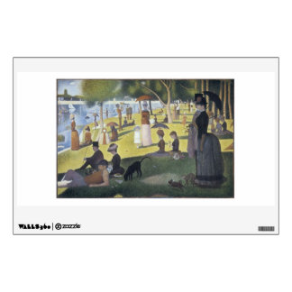 Sunday Afternoon on the Island of La Grande Jatte Wall Sticker