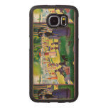 Sunday Afternoon On The Island Of La Grande Jatte Wood Phone Case