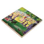 Sunday Afternoon On The Island Of La Grande Jatte Wooden Coaster