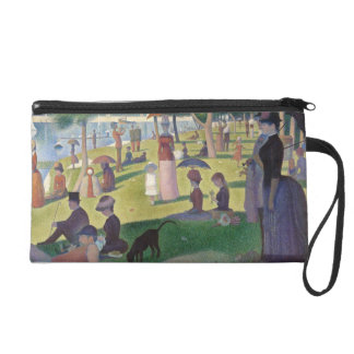 Sunday Afternoon on the Island of La Grande Jatte Wristlet