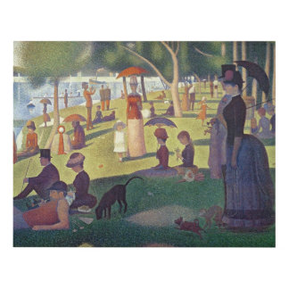 Sunday Afternoon on the Island of La Grande Panel Wall Art