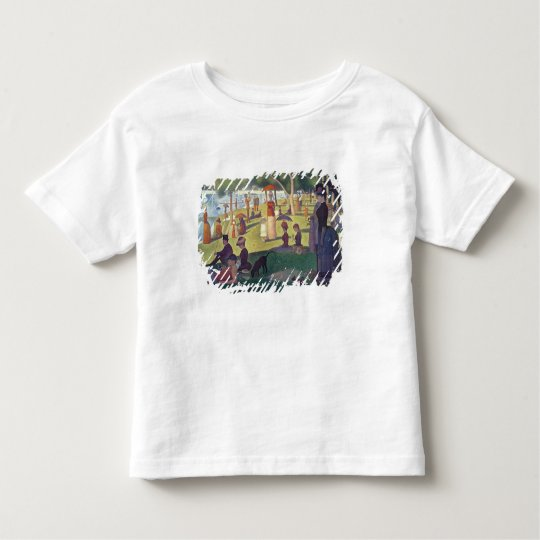 Sunday Afternoon on the Island of La Grande Toddler T-shirt
