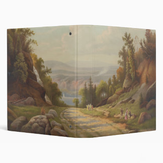 Sunday Afternoon on the West Point Road 3 Ring Binder