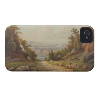 Sunday Afternoon on the West Point Road iPhone 4 Case-Mate Case
